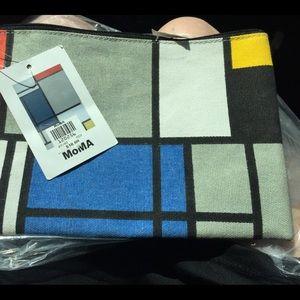 Handbags - MONDRIAN PENCIL POUCH from MOMA in NY